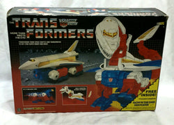 1986 Vintage G1 Transformers Sky Lynx Working Boxed Uncut Box Insert Complete