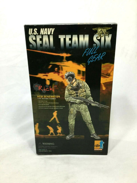 "DML Dragon Models US Navy Seal Team 6 ""Rick"" Doll Figure Boxed New FREESHIP"