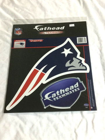 Fathead Sticker Wall Vinyl Decal New England Patriots 14x7 Inch Logo FREESHIP