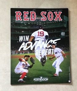 October 2017 ALDS Playoff Official Fenway Park Boston Red Sox Program Magazine
