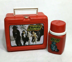 1980 Star Wars ESB Empire Strikes Back Lunch Box Plastic Cup Thermos Complete