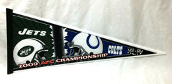 2009 Duel Pennant AFC Championship Game New York Jets Indianapolis Colts FREESHP
