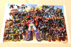 Transformers Autobots G1 Complete Line 11x17 Poster Picture FREESHIP