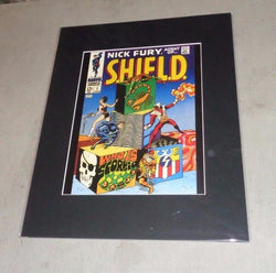 1968 Marvel Comics Nick Fury Agent of SHIELD #1 Picture Poster 16x20 FREESHIP
