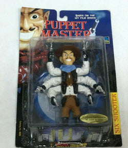 1999 Full Moon Toys Puppet Master Six Shooter Figure Sealed Carded FREESHIP