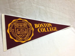 NCAA Boston College BC Pennant Football Baseball Newton FREESHIP