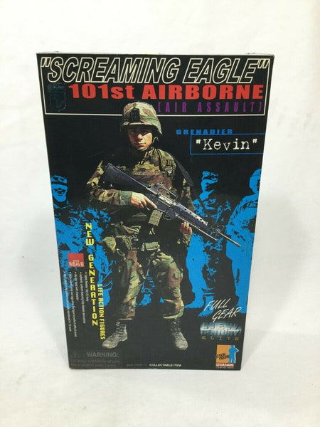 "Dragon Models US Army 101st Airborne Grenadier ""Kevin"" Doll Figure New Boxed"