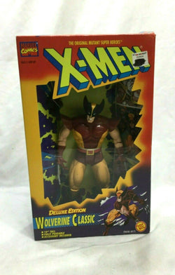 1994 Toybiz Marvel X-Men Classic Wolverine Figure 10 Inch Deluxe Sealed RARE New