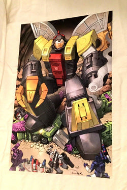G1 Transformers Autobot Omega Supreme Fighting Devestator Poster 11x17 FREESHIP