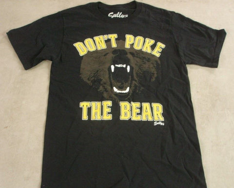 Boston Bruins Themed Dont Poke the Bear T Shirt Causeway Garden Size Small