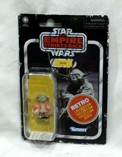 Star Wars ESB Empire Strikes Back Retro Collection Yoda Figure Carded MOC FREESP