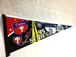 2009 World Series Duel Pennant New York Yankees Philadelphia Phillies FREESHIP