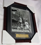 Boston Celtics Bill Russell Wilt Chamberlain Warriors Framed Picture 13x16 Size