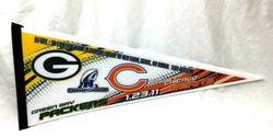 2010 Duel Pennant NFC Championship Rivalry Chicago Bears Greenbay Packers NFL