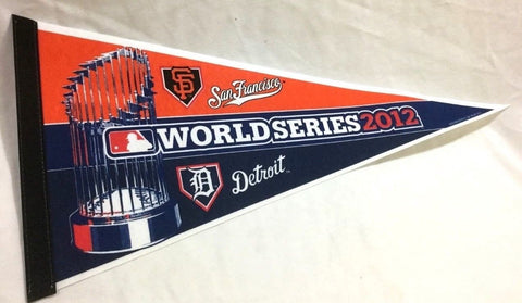 2012 World Series Duel Pennant San Francisco Giants Detroit Tigers FREESHIP