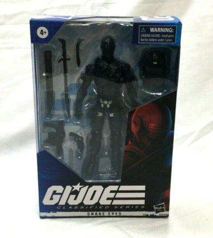 2020 Hasbro GI Joe Classified Series Snake Eyes #2 Figure New Boxed FREESHIP
