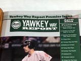 April 2013 Yawkey Way Report Red Sox Program Magazine Premeir Issue Ellsbury