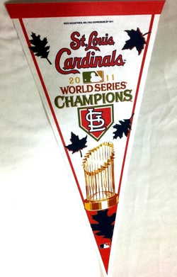 2011 World Series Champions St Louis Cardinals Pennant Trophy Logo FREESHIP