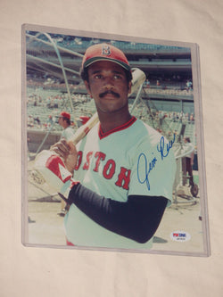 Boston Red Sox HOF Jim Rice 1978 Autographed Signed 8x10 Picture PSA Certified