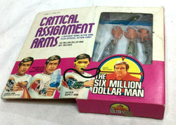1976 Vintage Kenner Six Million Dollar Man Critical Assignment Arms Boxed Sealed