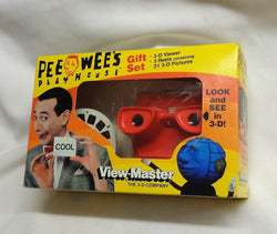 1987 Vintage Pee-Wee Herman Pee Wee's Playhouse View-Master 3D Gift Set Boxed