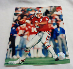 New England Patriot Doug Flutie Retro 1980s Picture Photo 8x10 FREESHIP