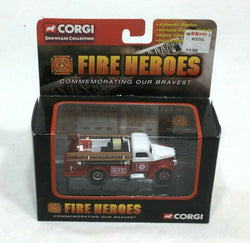 2002 Corgi Fire Heroes Millwood Fire Dept 1939 Ford V8 Pumper NEW Boxed FREESHIP