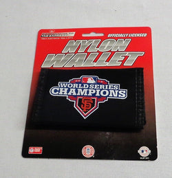 San Francisco Giants 2012 World Series Champions Nylon Tri Fold Wallet FREESHIP
