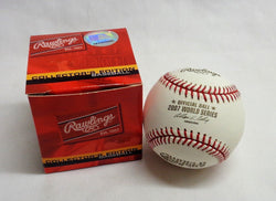 Rawlings Game Baseball 2007 World Series Boston Red Sox Colorado Rockies FREESHP