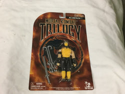 Vintage 1996 Mortal Kombat Trilogy Scorpion Figure MOC MISP Sealed Carded