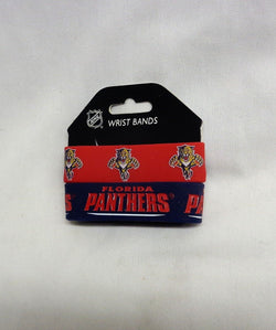 NHL Florida Panthers 2 Pack Bracelet Wrist Bands Set Rubber PVC Type FREESHIP