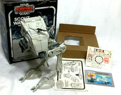 1980 Star Wars ESB Empire Strikes Back Scout Walker AT-ST Complete Boxed Uncut