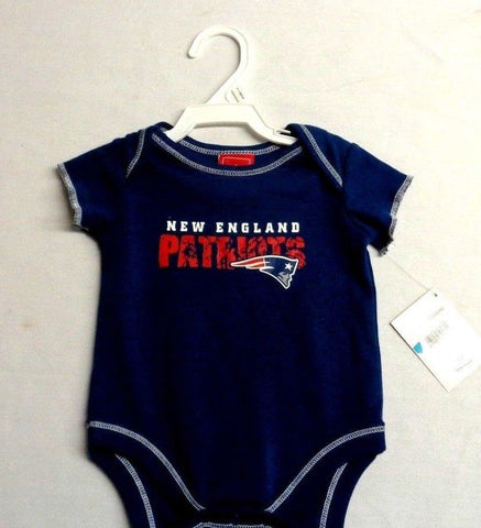 save off 9389b 51527 Official New England Patriots Baby Kids One-sie Shirt Size 3 to 6 Months  Blue