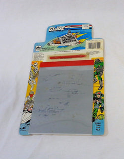 1990 Vintage Hasbro G.I. Joe Magic Slate Paper Saver Drawing Board Complete New