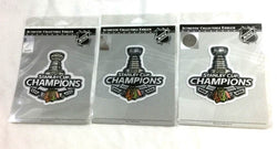 2010 2013 2015 Stanley Cup Champions Chicago Blackhawks Patch Lot 3 Set Dynasty