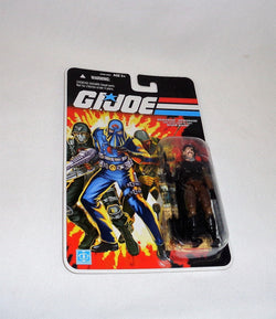 2007 Hasbro GI Joe 25th Anniversary French Canadian Major Bludd Figure MOC