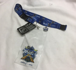 2018 Winter Classic Ticket Holder Lanyard Pin New York Rangers Buffalo Sabres