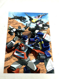 G1 Transformers Soundwave Ravage Prowl Jazz Ironhide Battle Poster 11x17 Picture