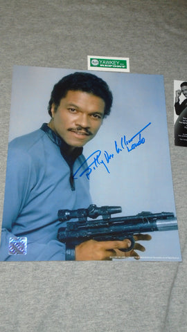 Star Wars ESB Lando Calrissian Billy D Williams Autograph Signed 8x10 Picture