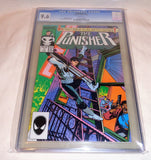 August 1987 Marvel Comics Punisher #1 CGC 9.6 NM+ White Pages Graded FREESHIP