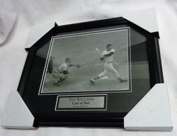 Fenway Park Boston Red Sox HOF Ted Williams Final at Bat Framed Picture 13x16