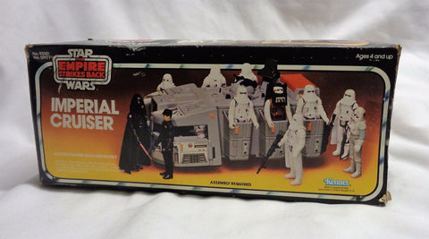 RARE 1980 Star Wars ESB Imperial Cruiser Sears Exclusive Boxed Complete FREESHIP
