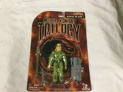 Vintage 1996 Mortal Kombat Trilogy Sonya Blade Figure MOC MISP Sealed Carded