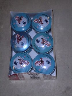 New England Patriots Helmet Peppermints Tin Case 12 Pieces Pack Tom Brady Likes