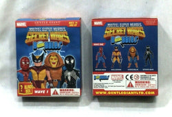 New Gentle Giant Marvel Secret Wars Micro Bobbles Wave 1 Box Blind Pack Figure