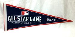 2018 MLB Baseball Allstar Game Pennant Washington DC Nationals Park FREESHIP