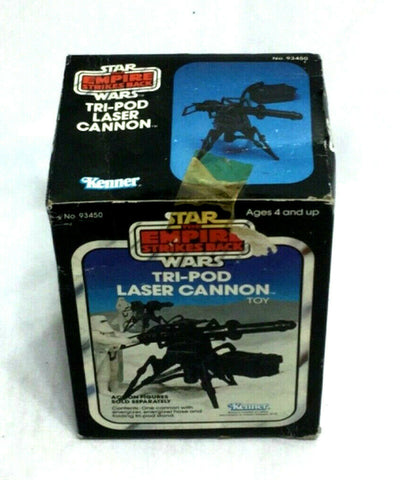 1980 Star Wars ESB Empire Strikes Back Tripod Laser Cannon Boxed Sealed MIB NEW