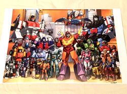 G1 Transformers Autobots 1986 Rodimus Prime Team 11x17 Poster Picture FREESHIP