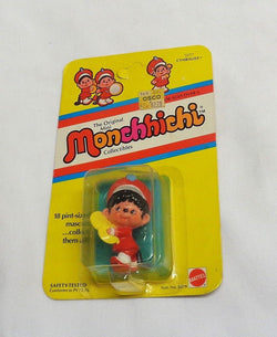 1981 Mattel Monchhichi PVC Cymbalist Band Figure MOC Carded Sealed FREESHIP