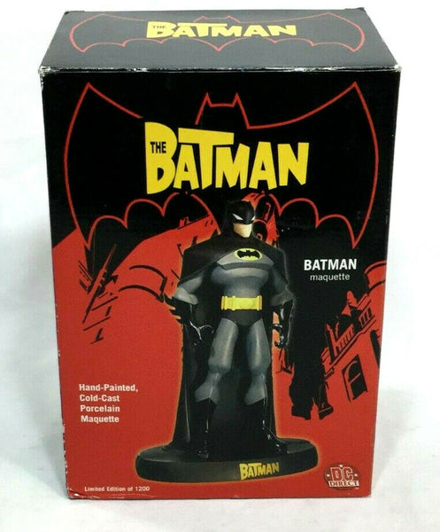 DC Direct The Batman Animated Series Maquette Statue Figure Limited #685 Boxed